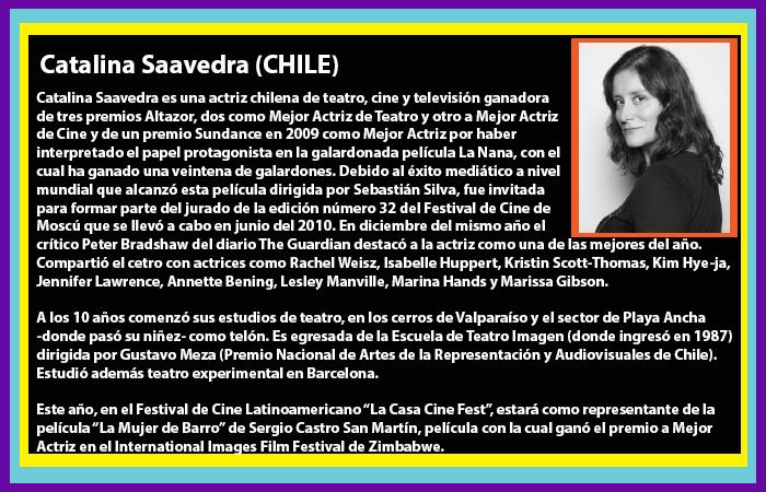 Invitados Catalina Saavedra