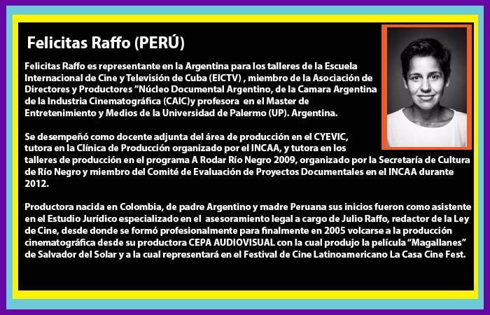 Invitados Felicitas Rafo