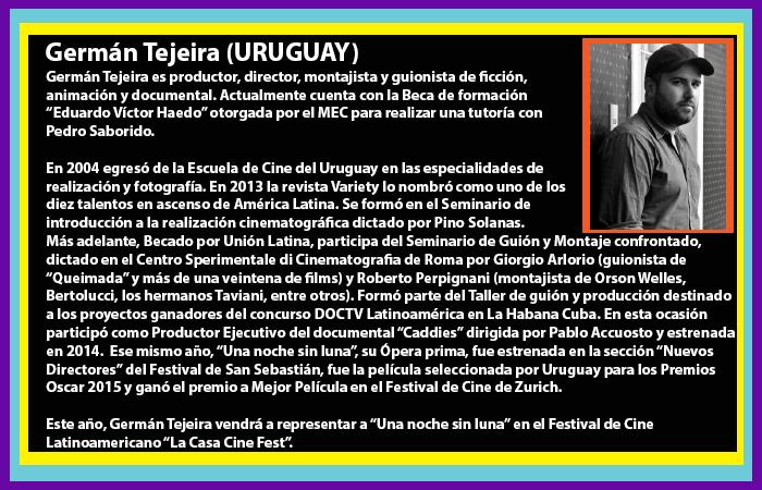 Invitados Germán Tejeira
